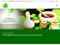 ayurvedic treatment for Kidney failure website screenshot