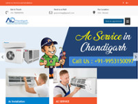 AC Chandigarh website screenshot