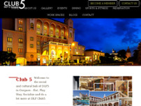 dlf club5 website screenshot