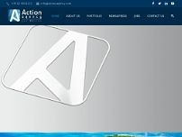 Action Agency Srl website screenshot