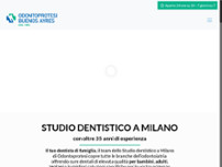 Centro Medico e Dentistico Buenos Ayres website screenshot