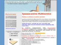 Spazzacamino Multiservice website screenshot