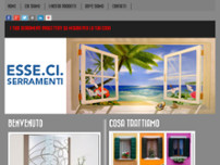 Esse.Ci. Serramenti website screenshot
