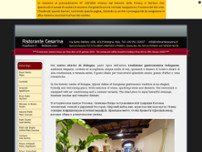 Ristorante Cesarina website screenshot