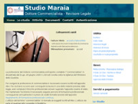 Maraia Ernesto website screenshot