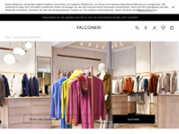 Falconeri website screenshot