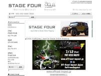 Stage Four website screenshot