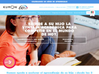 Centro Kumon Solares website screenshot