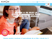Centro Kumon Las Rosas website screenshot