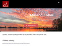 Minang Kabau Baru website screenshot
