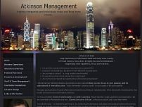 Atkinson Management website screenshot