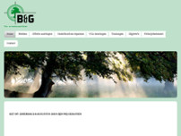 B & G Tuin- en Bosbouwartikelen website screenshot