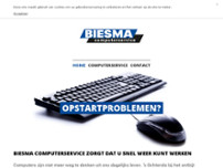 Biesma Computer Service website screenshot