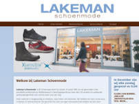 Lakeman Comfortabele Schoenmode website screenshot