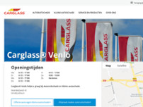 Carglass® website screenshot