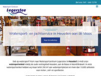 Watersportcentrum Legerstee website screenshot