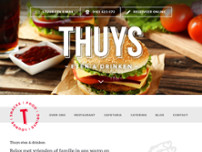 Thuys Eten en Drinken website screenshot