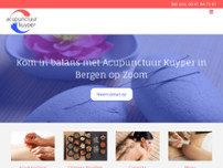 Acupunctuur Kuyper website screenshot