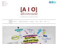 AIO All in One Marketing Heerlen website screenshot