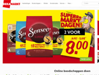 DekaMarkt website screenshot