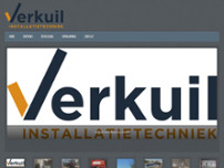 Verkuil Installatietechniek website screenshot