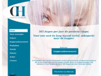 Kapsalon Carola's Haarmode website screenshot
