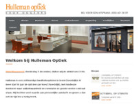 Hulleman Optiek website screenshot