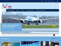 World Of Tui website screenshot