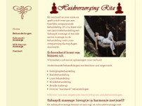 Rita Huidverzorging website screenshot