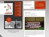 Liberté Showgroep website screenshot