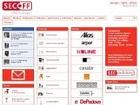 Secoff website screenshot