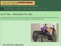 Ex N' Flex website screenshot