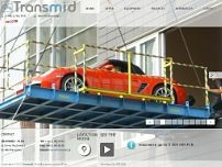 Transmid-Plus. Transport specjalistyczny website screenshot