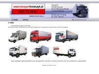 Krawczyk Witold. Transport website screenshot