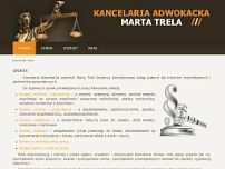 Kancelaria Adwokacka Marta Trela website screenshot
