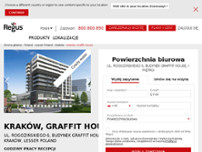 Regus - Krakow, Graffit House website screenshot