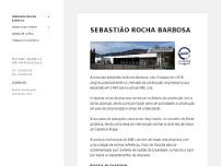 Sebastião Rocha Barbosa Lda website screenshot