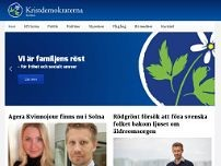 Kristdemokraterna i Solna website screenshot