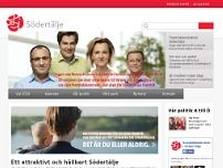 Socialdemokraterna I Södertälje website screenshot