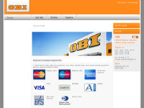 OBI Celje website screenshot