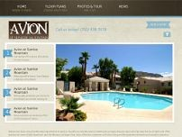 Avion At Sunrise Mountain Apartments website screenshot