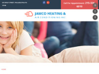 Jamco Heating & Air Conditioning Inc website screenshot