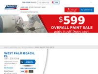 Maaco Collision Repair & Auto Painting website screenshot