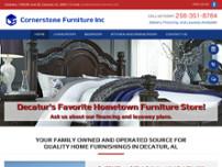 Screenshot For Http://www.cornerstonefurniture.net/