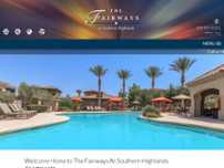 The Fairways at Southern Highlands website screenshot