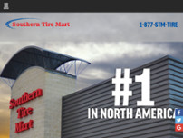 Southern Tire Mart website screenshot