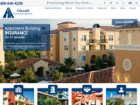 Fuller Insurance Agency website screenshot