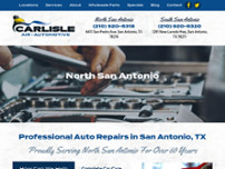 Carlisle Air Automotive website screenshot