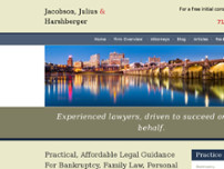 Jacobson, Julius & Harshberger website screenshot
