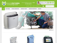 MiamiOxygen.com website screenshot